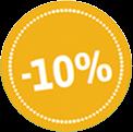 Korting 10%