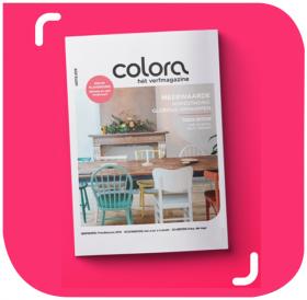 Het gloednieuwe colora magazine - lente 2019