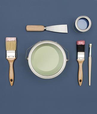 Vind in een colora verfwinkel de juiste soorten verf voor jouw project