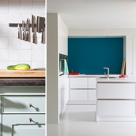 Vind inspiratie voor het verven van je keuken