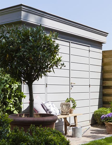 Je tuinhuis verven? Enkele tips