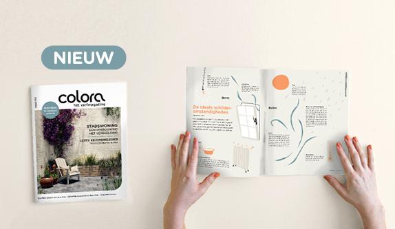 Ontdek het gloednieuwe lentenummer van het colora magazine