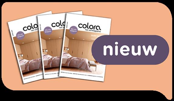 Ontdek het gloednieuwe herfstnummer van het colora magazine