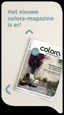 Het gloednieuwe colora magazine - lente 2021