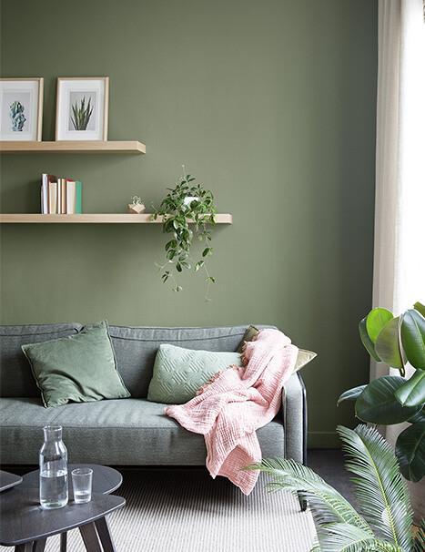 Je woonkamer verven: interieurinspiratie