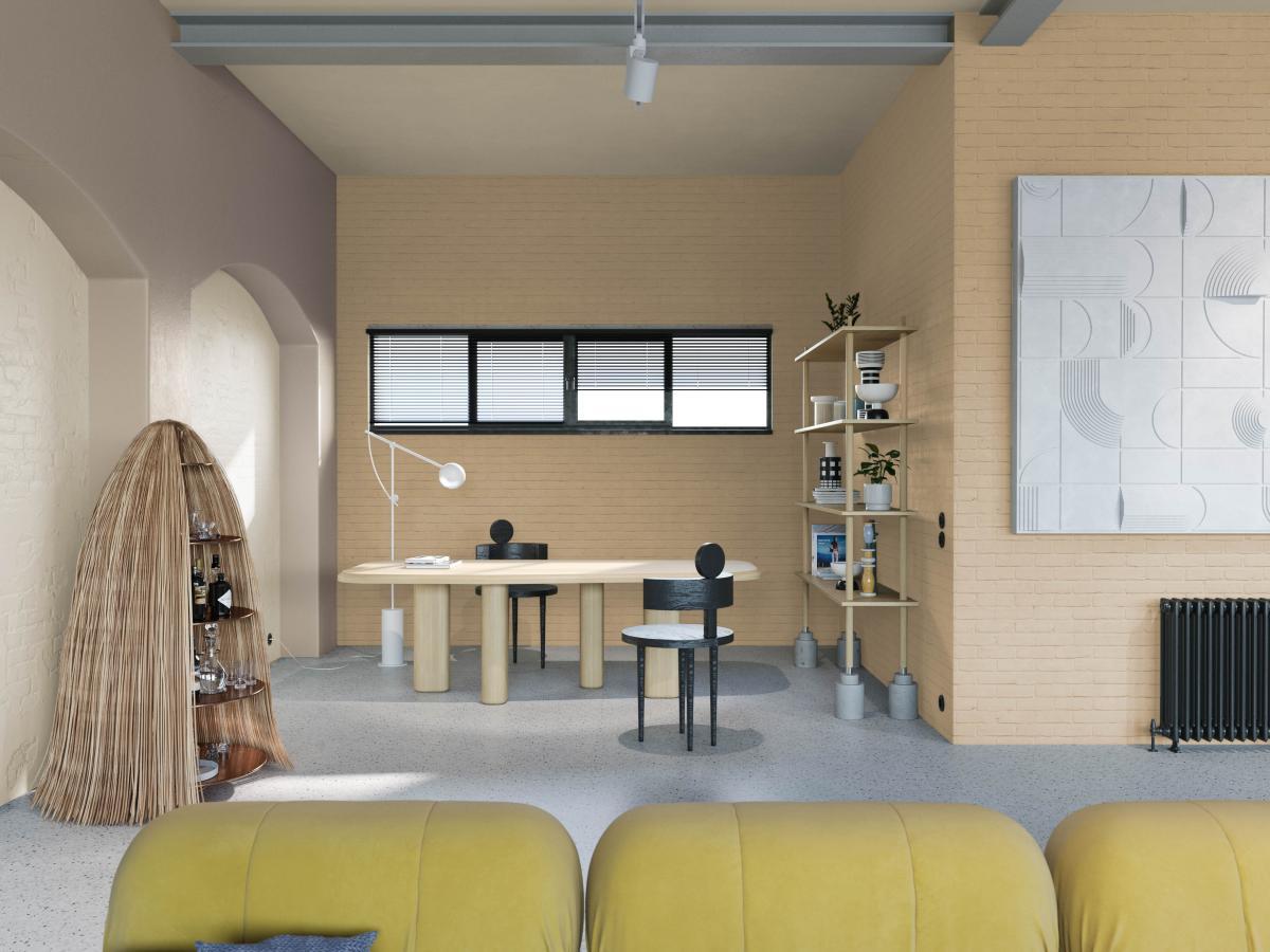 Kleurgebruik en designobjecten ontleent uit verschillende culturen zorgen voor een persoonlijk interieur