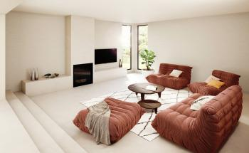 Ga voor serene kleuren in de woonkamer en creëer een oase van rust
