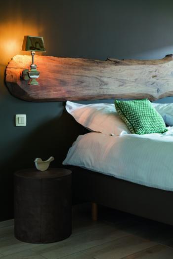 Schilder je slaapkamer zwart