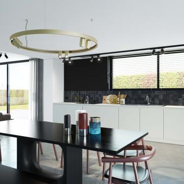 Creëer een harmonieuze ruimte met een tijdloos off-white in de keuken