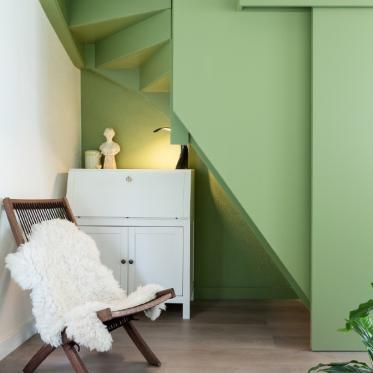 Schilder je trap groen