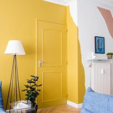 Durf te spelen met kleur in je woonkamer
