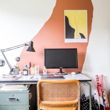 Kies voor felle details voor een creatieve werkruimte