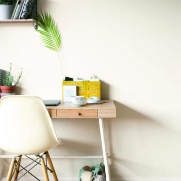 Schilder je werkkamer wit