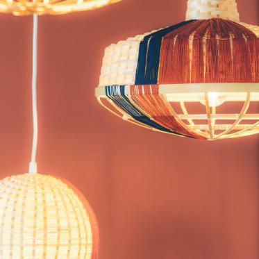 Een warme verfkleur voor een knusse kamer