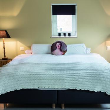 Schilder je slaapkamer wit