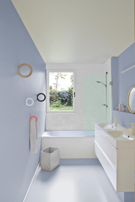 Moderne kleuren voor je badkamer