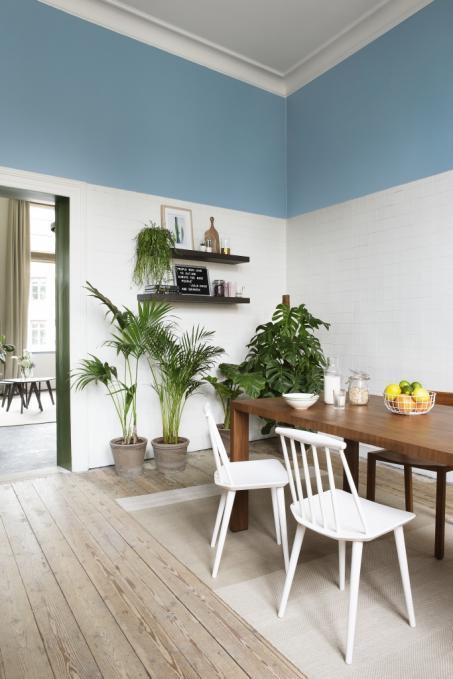 Je keuken wit en blauw schilderen