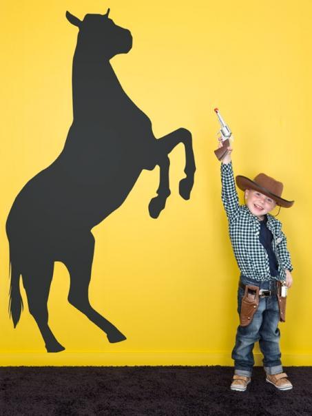 Muursticker paard