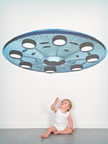 Muursticker ufo