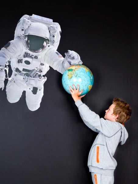 Muursticker astronaut