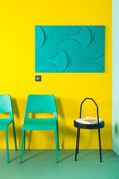 Geef je ruimte extra pit met felle kleuren