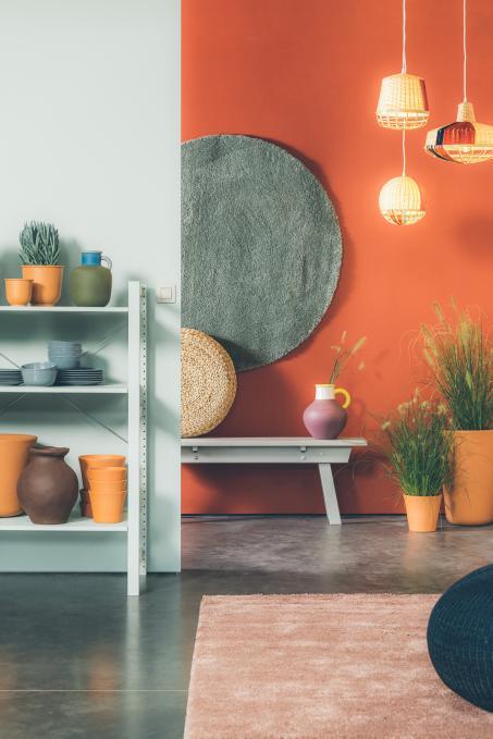 Natuurlijke verfkleuren in je woonkamer