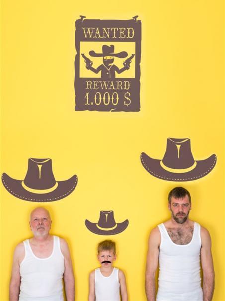 Pimp je kamer met onze western muurstickers