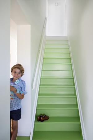 Je trap verven voor een snelle traprenovatie