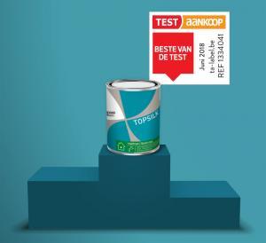Test Aankoop bekroont Topsilk tot Beste van de Test