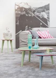 Prachtige kleurencombinaties: Vergrijsde pastels met felle accentkleuren