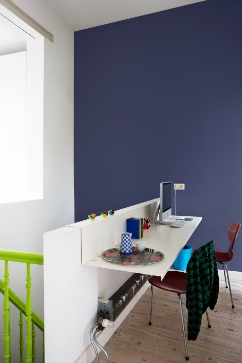 Je muur schilderen in een accentkleur