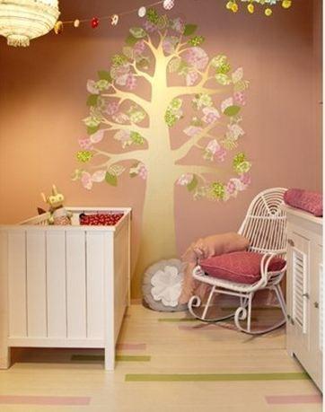 De mooiste kleuren om de babykamer te verven