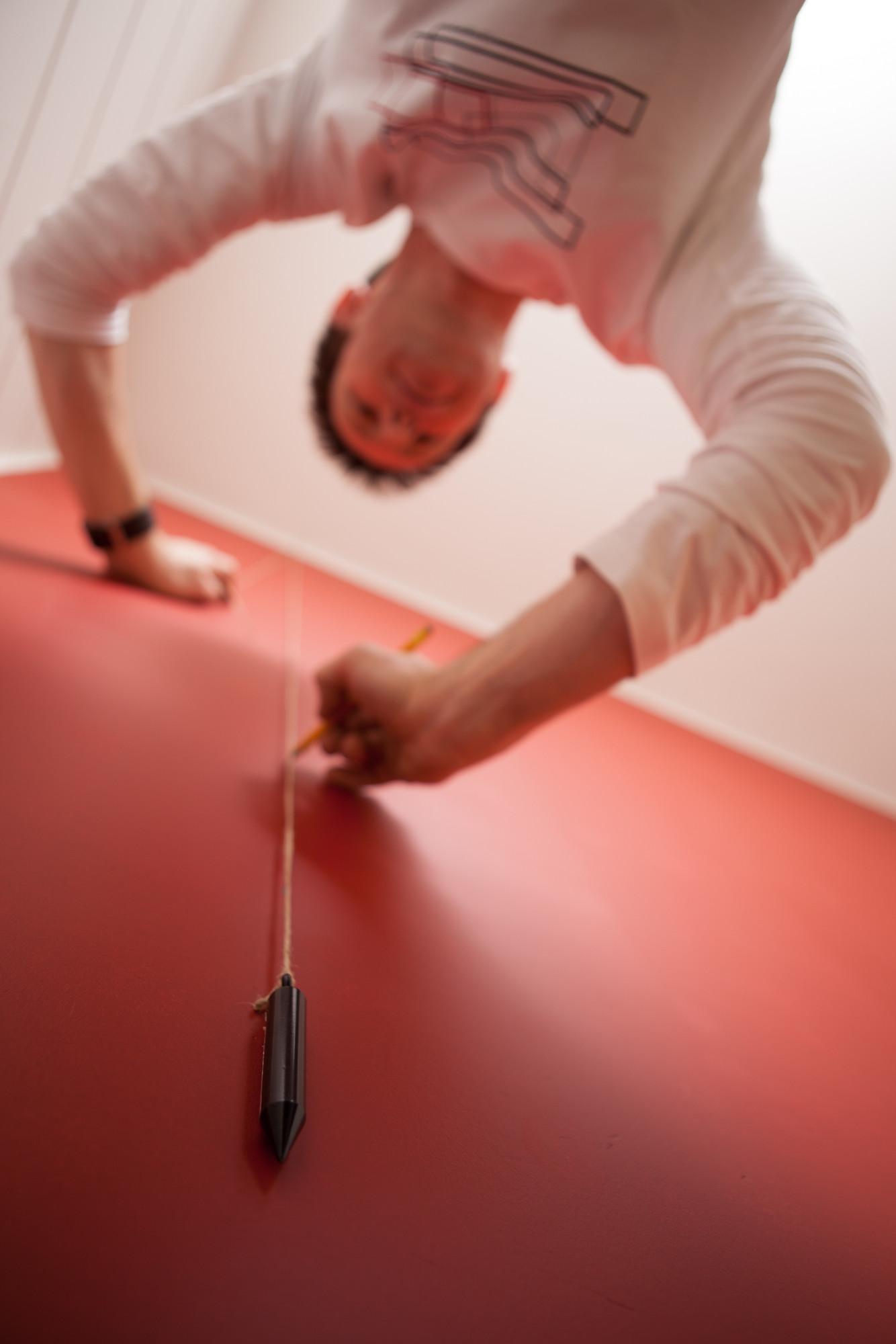 Hoe behangen? 4: een loodlijn aanbrengen