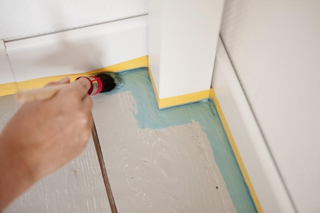 Blog hoe schilder je een houten vloer? colora.nl