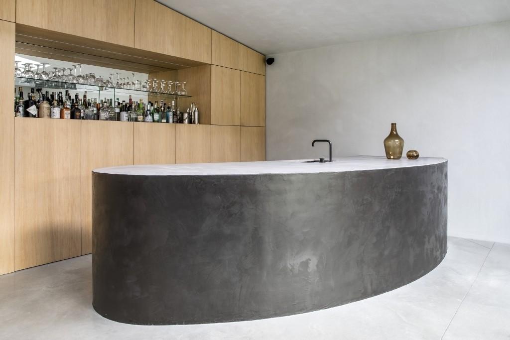 Decoratieve verftechniek Limestone