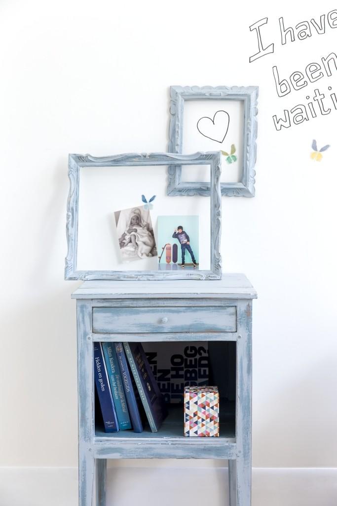 Decoratieve verftechniek meubelen Mystique